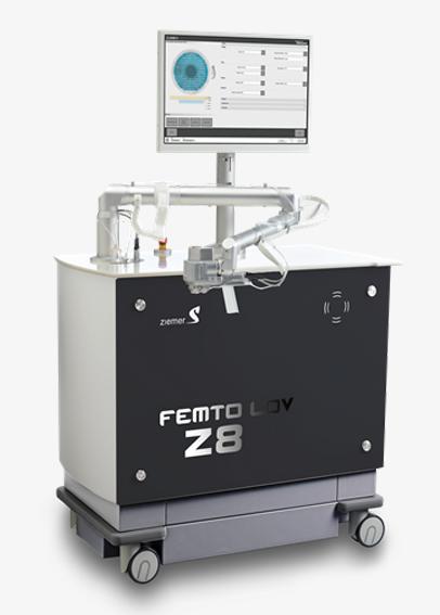 Láser de femtosegundo LDV Z8 Instituto Oftalmológico Amigó