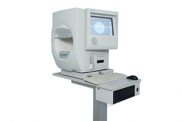 Es el equipo más empleado a nivel mundial para el estudio de investigación, diagnostico y manejo de patologías que afecta la función visual.