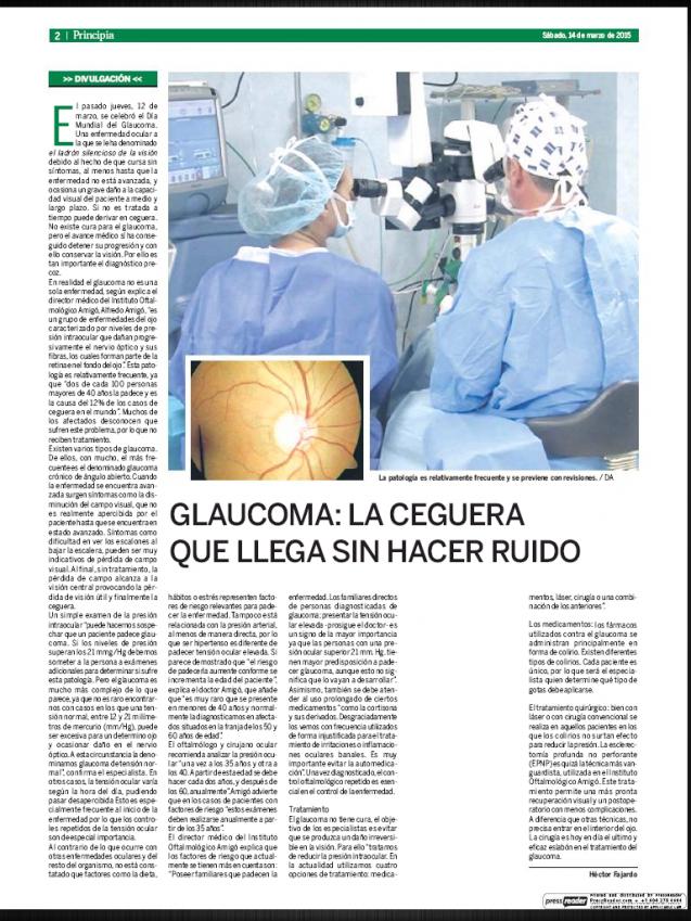 Glaucoma: la ceguera que llega sin hacer ruido