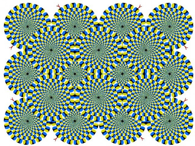 ¿Se mueve o no? Te contamos qué es la persistencia retiniana